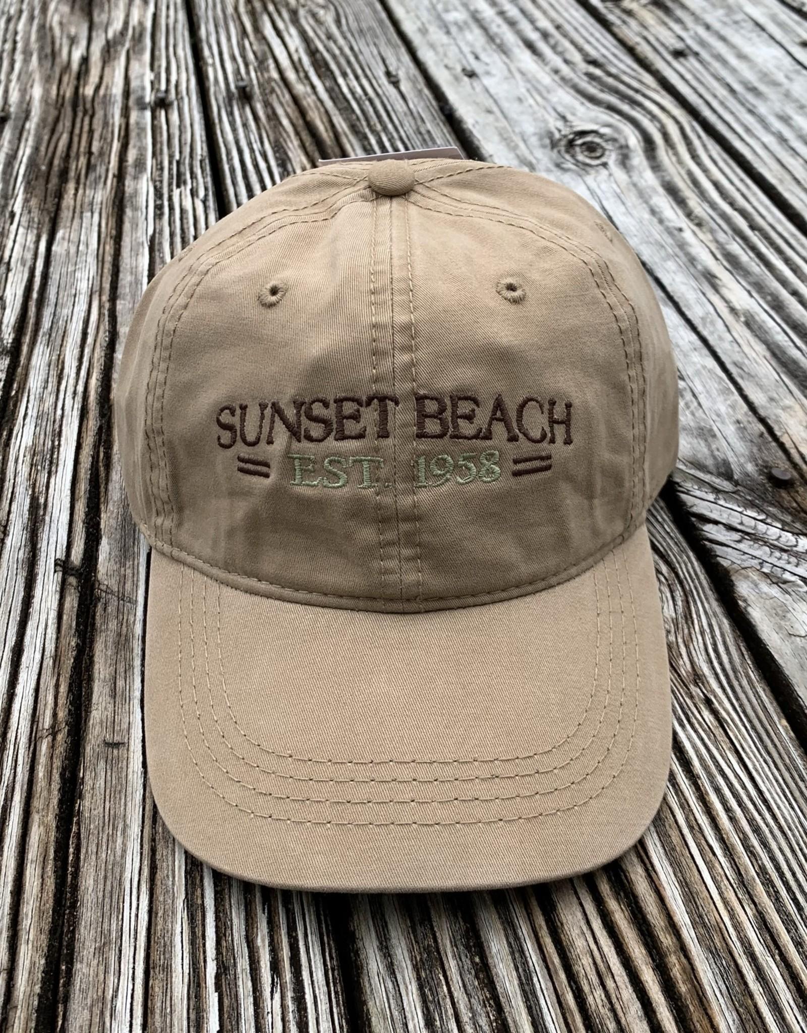 1958 SUNSET BEACH CAP SILK