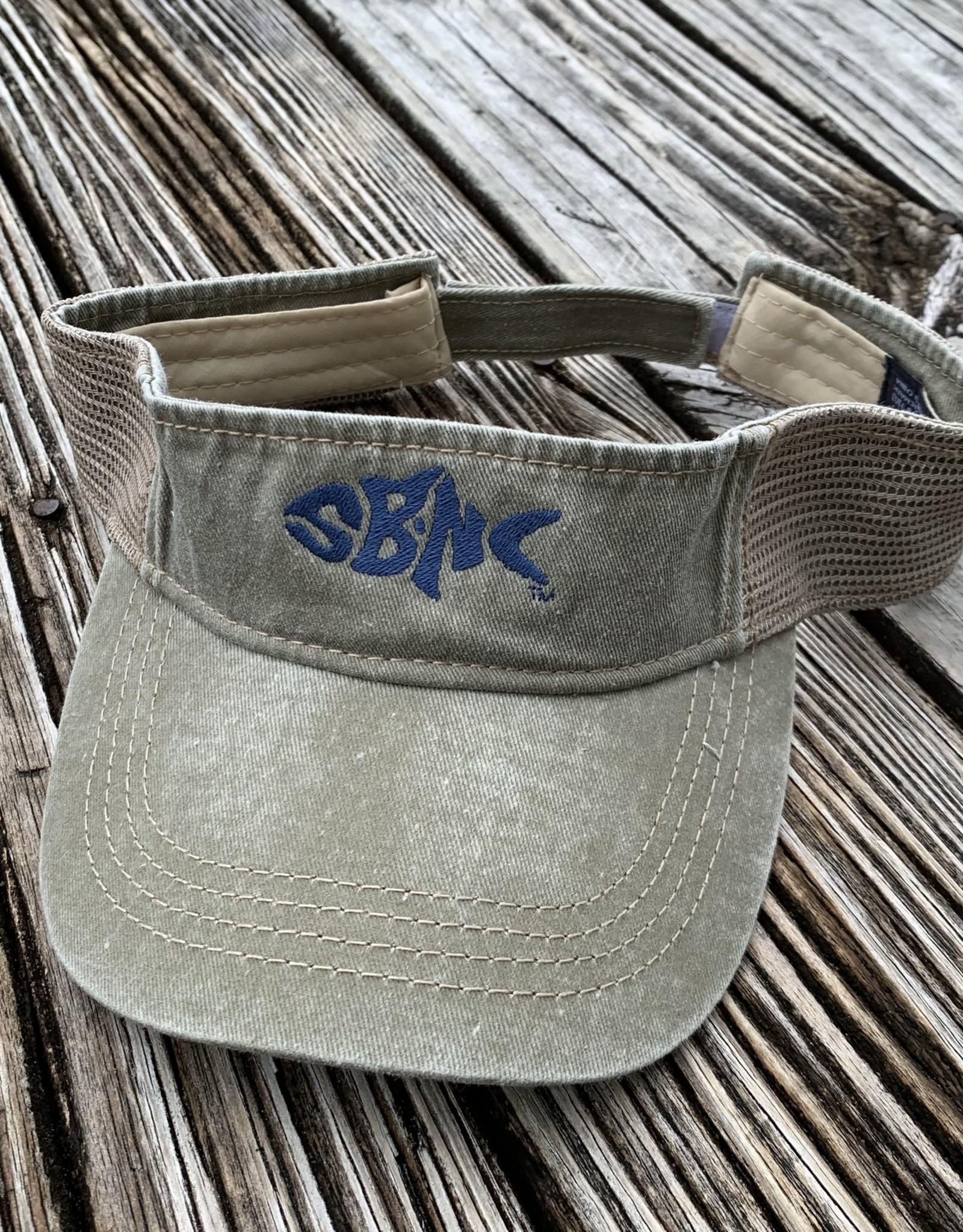 sbncfish SBNC FISH DYED/MESH VISOR