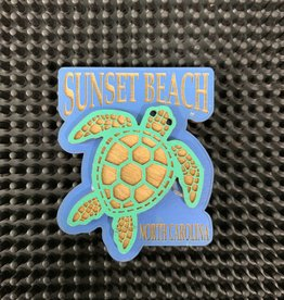 SWIMMING TURTLE MAGNET