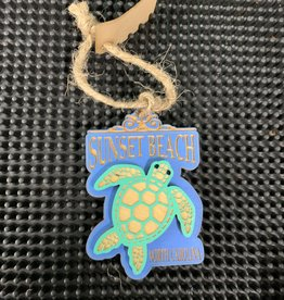 SWIMMING TURTLE ORNAMENT