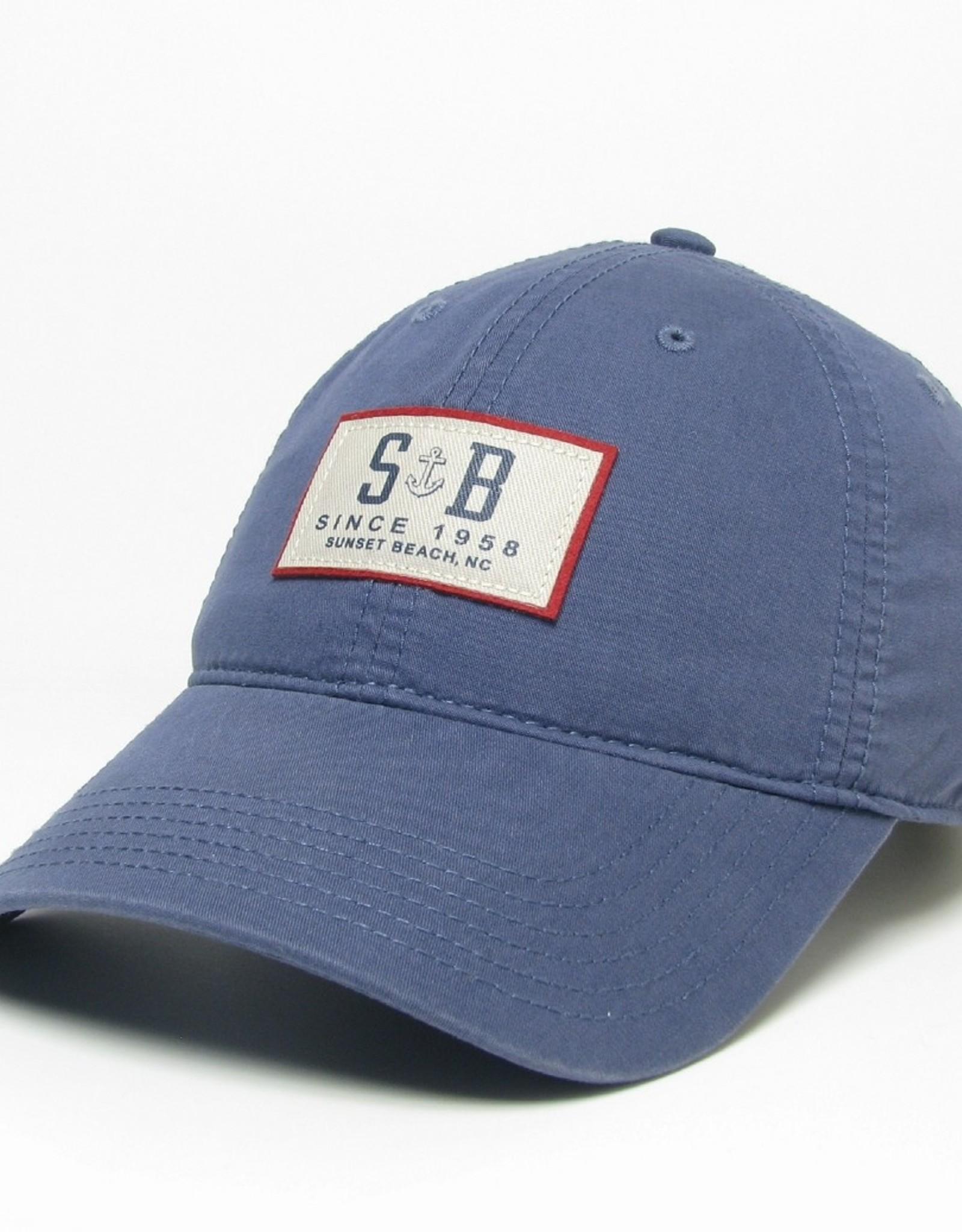 SB ANCHORED EZL CAP SLATE BLUE