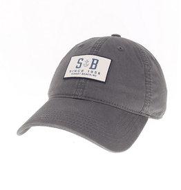 SB ANCHORED EZL CAP DARK GRAY
