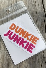DUNKIE JUNKIE STICKER (CELL)