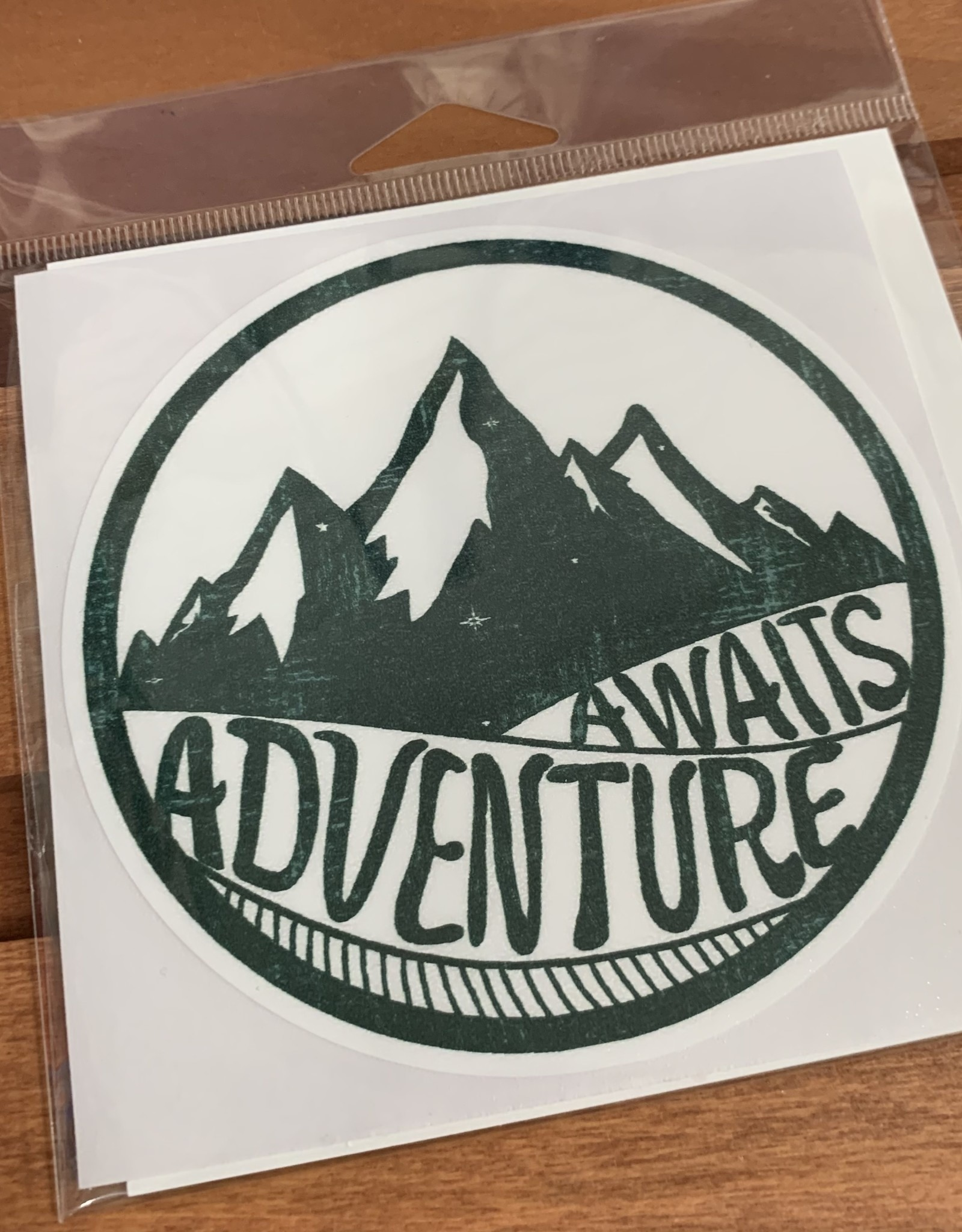 ADVENTURE AWAITS STICKER (LARGE)