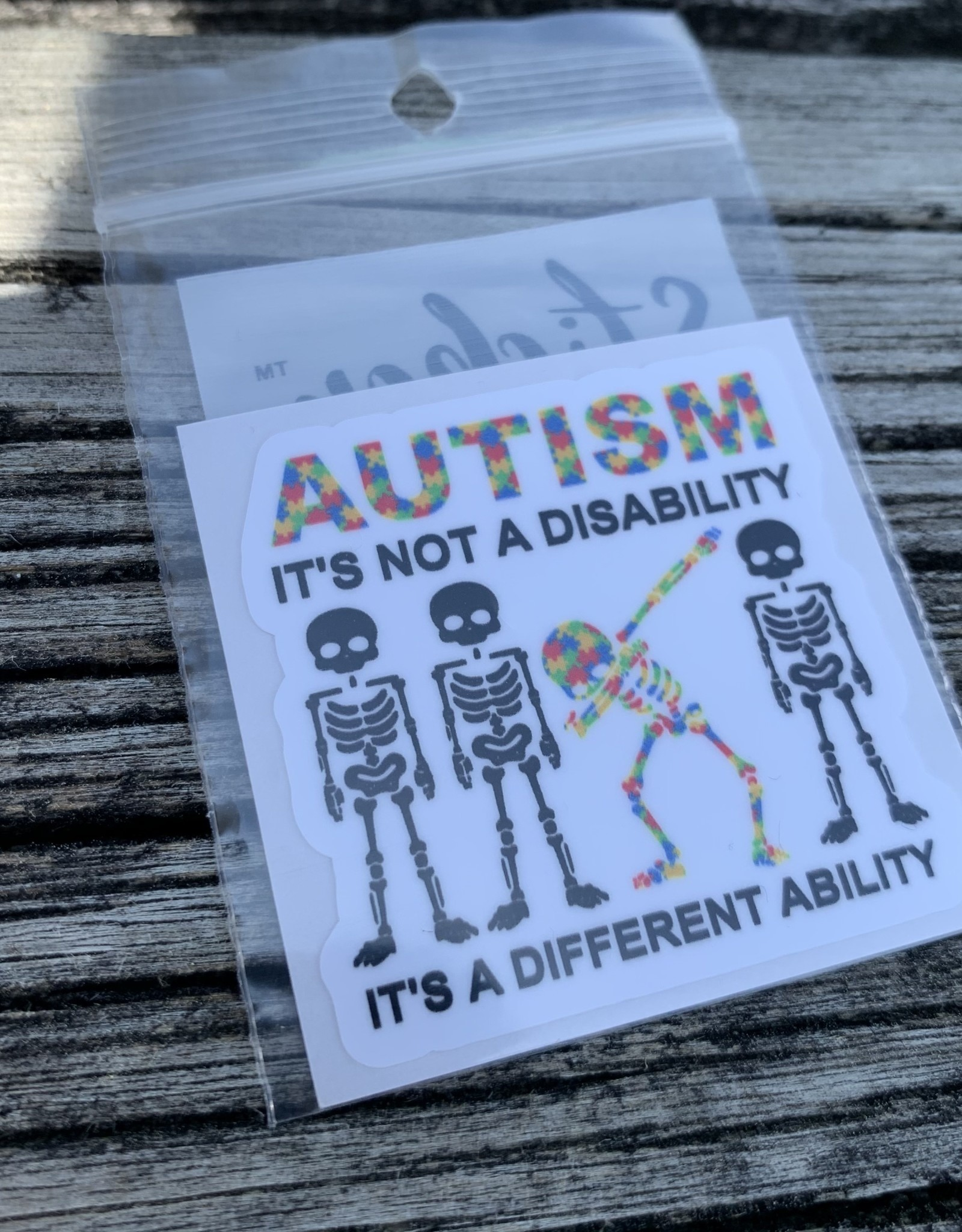 AUTISM STICKER (CELL)