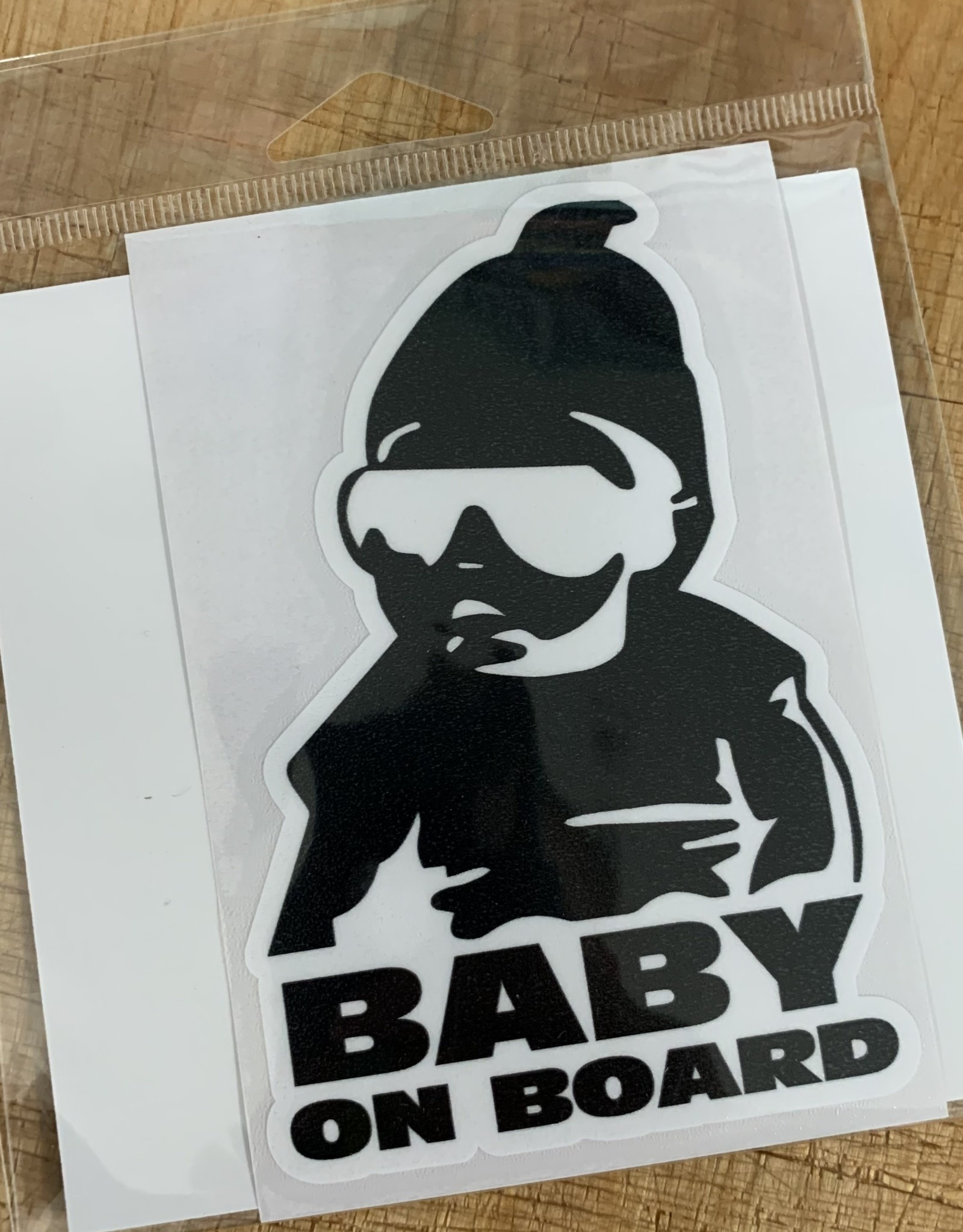 BABY ON BOARD STICKER (LARGE)