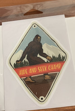 HIDE AND SEEK CHAMP STICKER (LARGE)