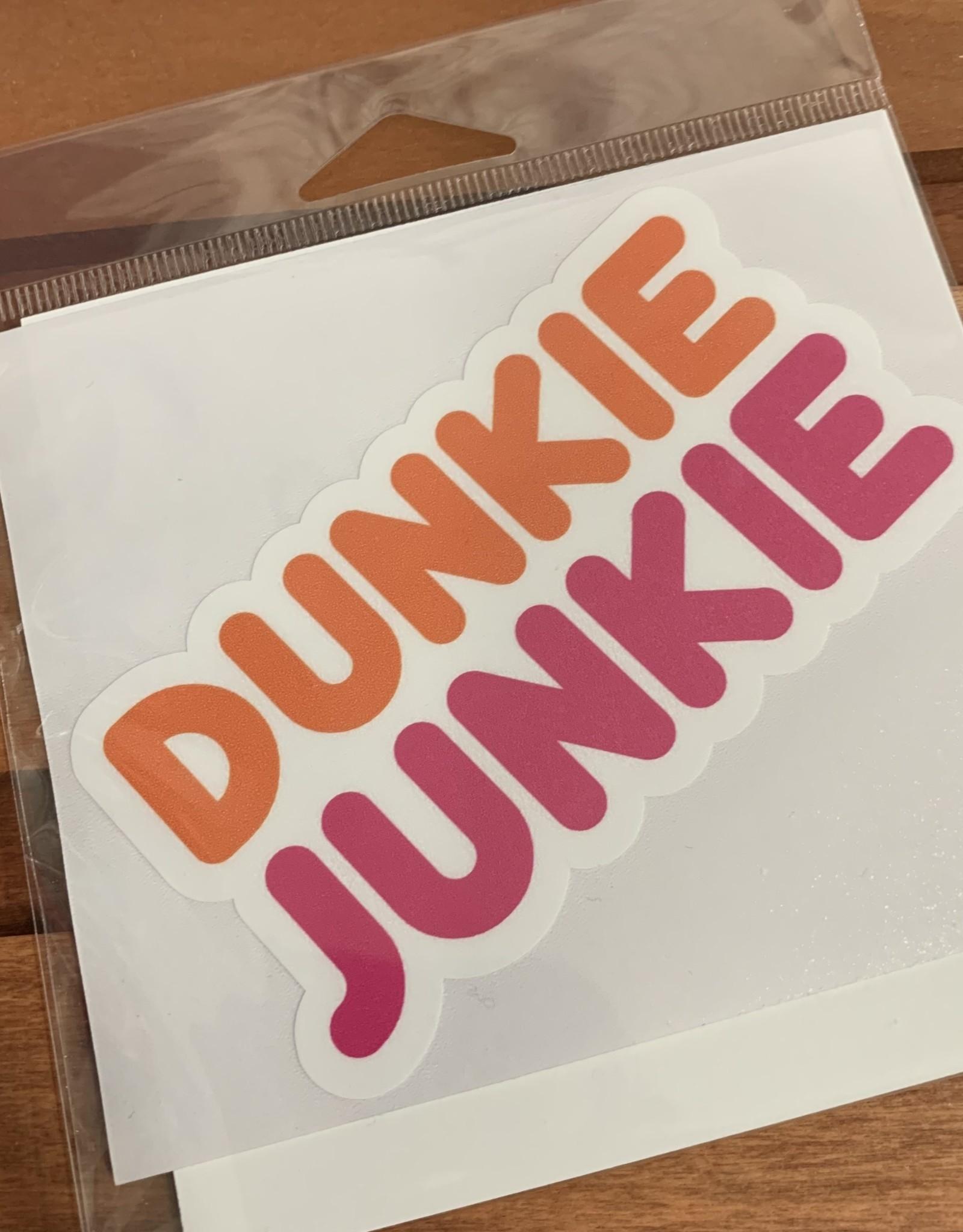 DUNKIE JUNKIE STICKER (LARGE)