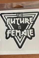 FUTURE IS FEMALE STICKER (LARGE)
