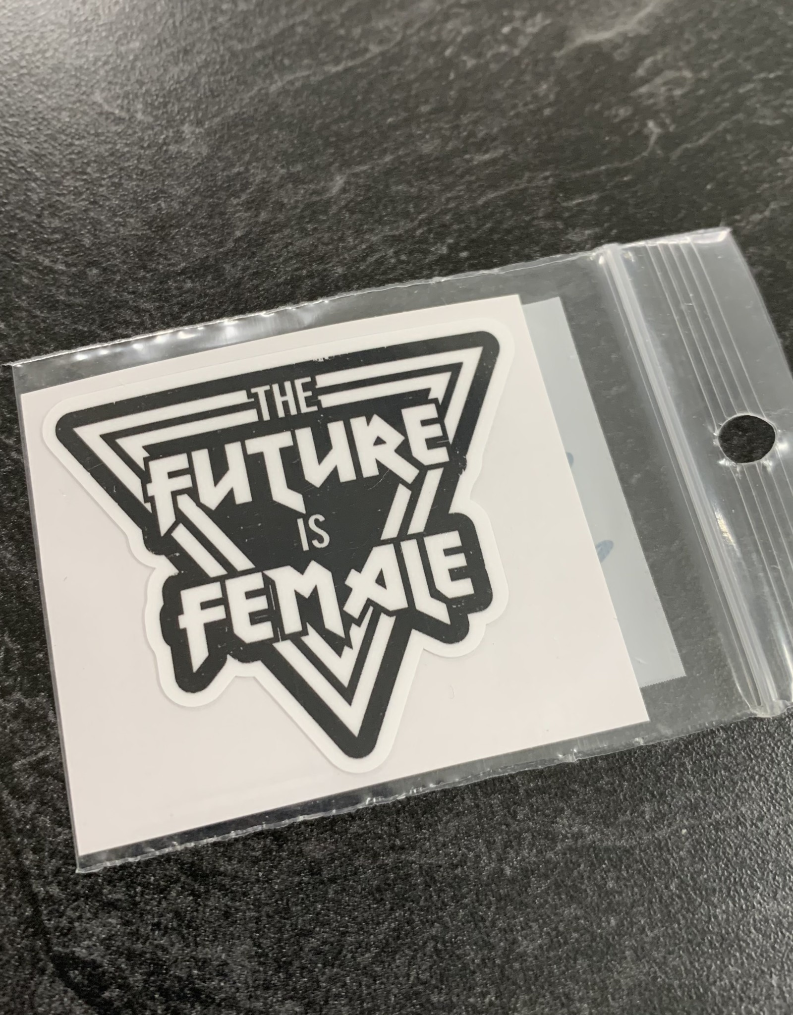 FUTURE IS FEMALE STICKER (CELL)