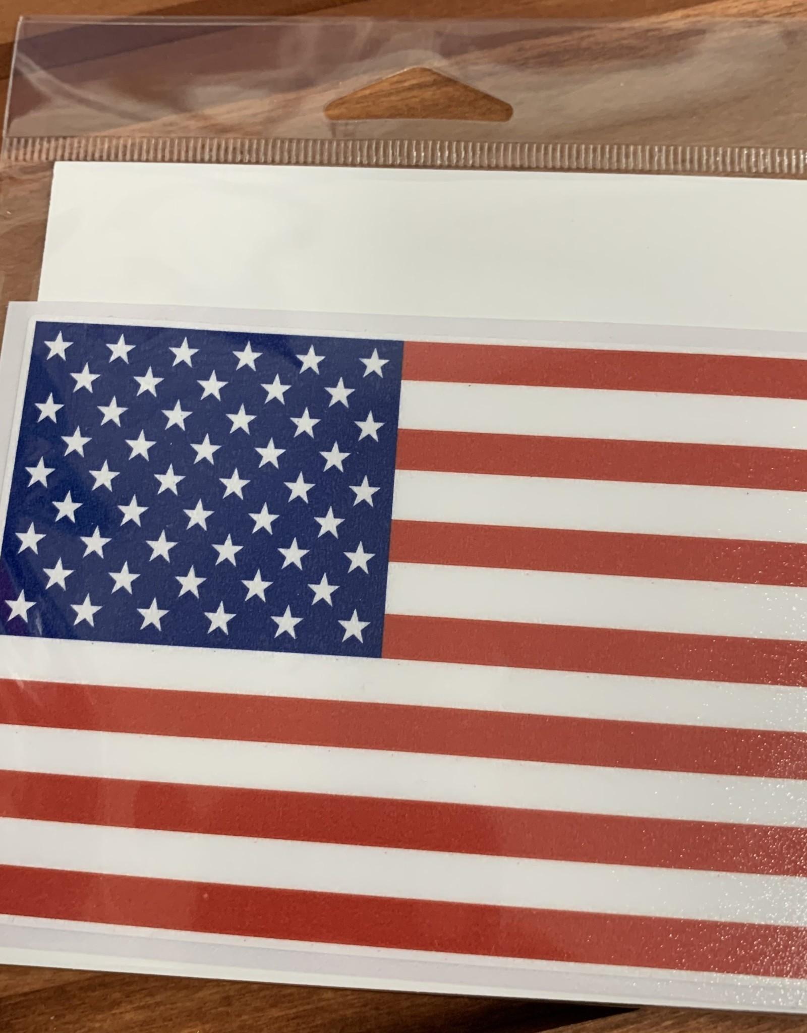 USA FLAG STICKER (LARGE)