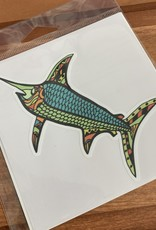 MOSAIC FISH STICKER (LARGE)