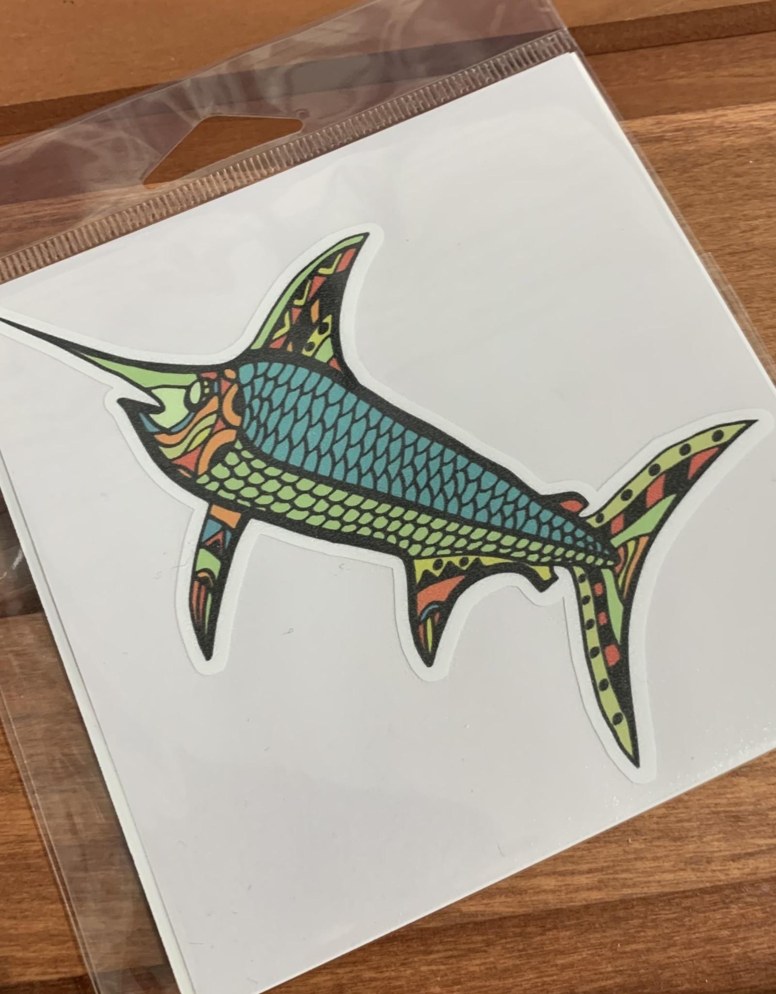 MOSAIC FISH STICKER (LARGE)