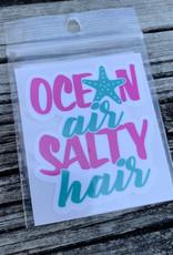 OCEAN AIR SALTY HAIR STICKER (CELL)