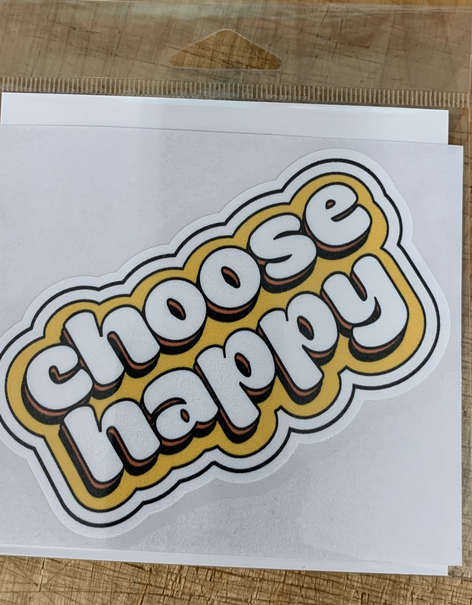 CHOOSE HAPPY STICKER (LARGE)