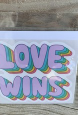 LOVE WINS STICKER (LARGE)