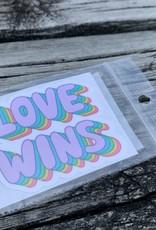 LOVE WINS STICKER (CELL)