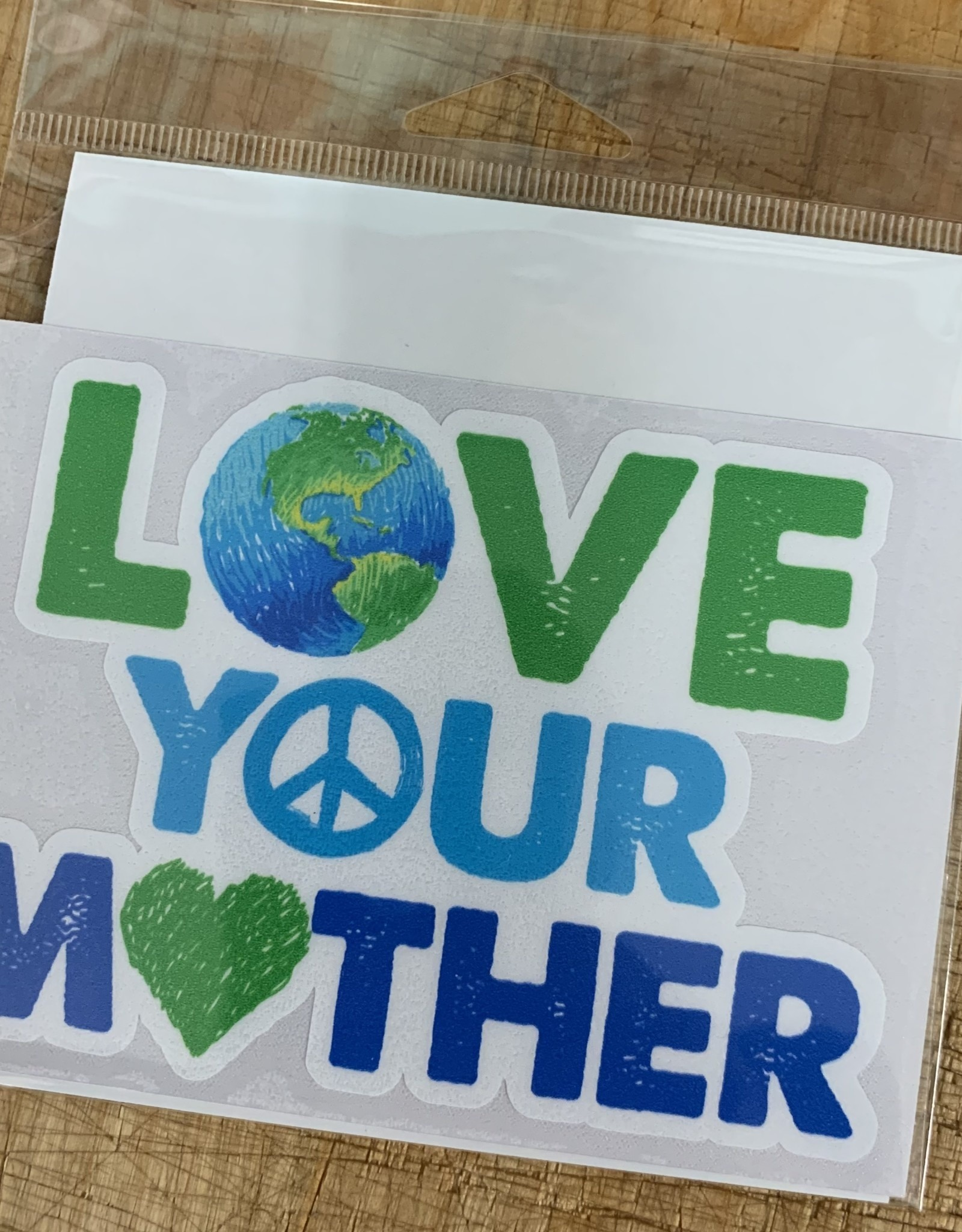 LOVE YOUR MOTHER STICKER (LARGE)