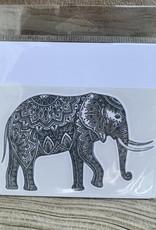 GRAY ELEPHANT STICKER (LARGE)