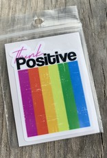 THINK POSITIVE STICKER (CELL)
