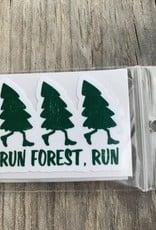 RUN FOREST RUN STICKER (CELL)