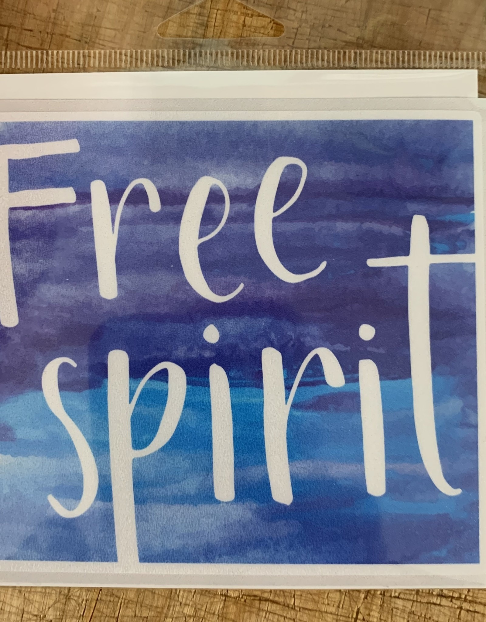 FREE SPIRIT STICKER (LARGE)