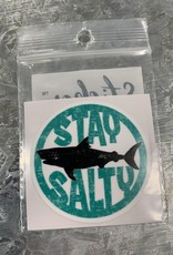 STAY SALTY SHARK STICKER (CELL)