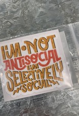 SELECTIVELY SOCIAL STICKER (CELL)