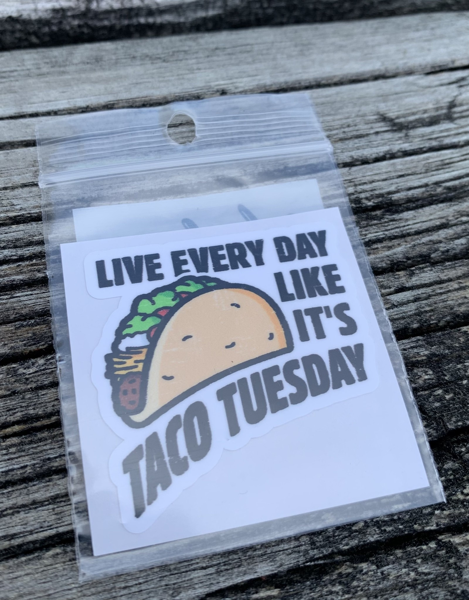 TACO TUESDAY STICKER (CELL)