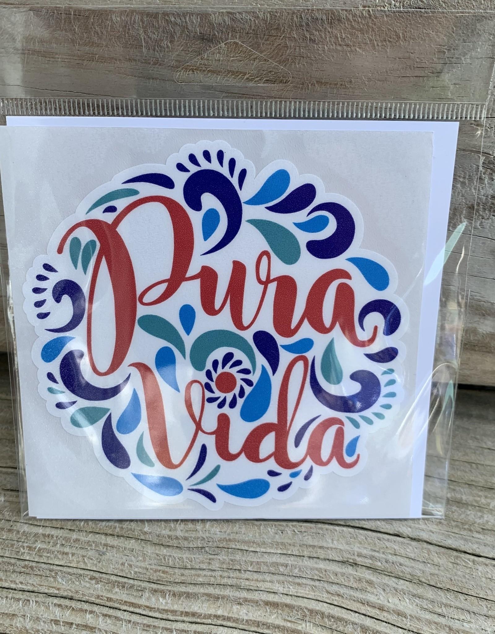 PURA VIDA STICKER (LARGE)