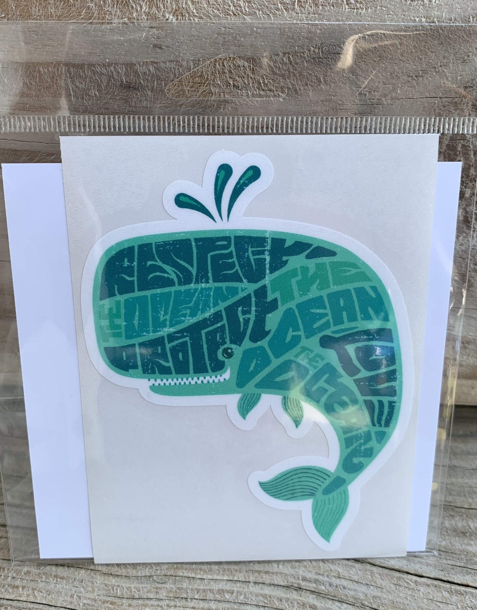 WHALE STICKER (LARGE)