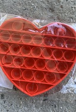HEART RED FIDGET TOY