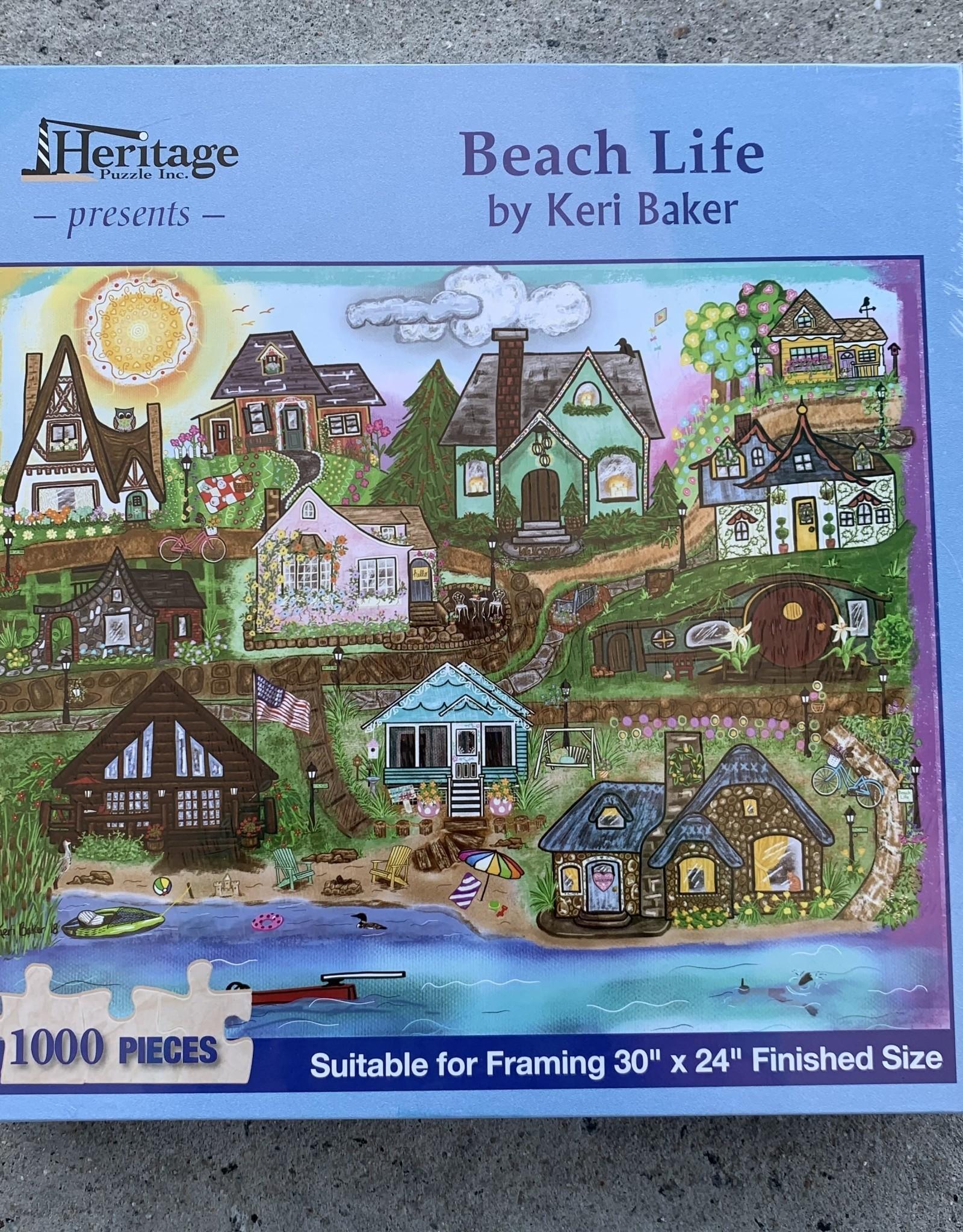 BEACH LIFE PUZZLE 1,000PCS