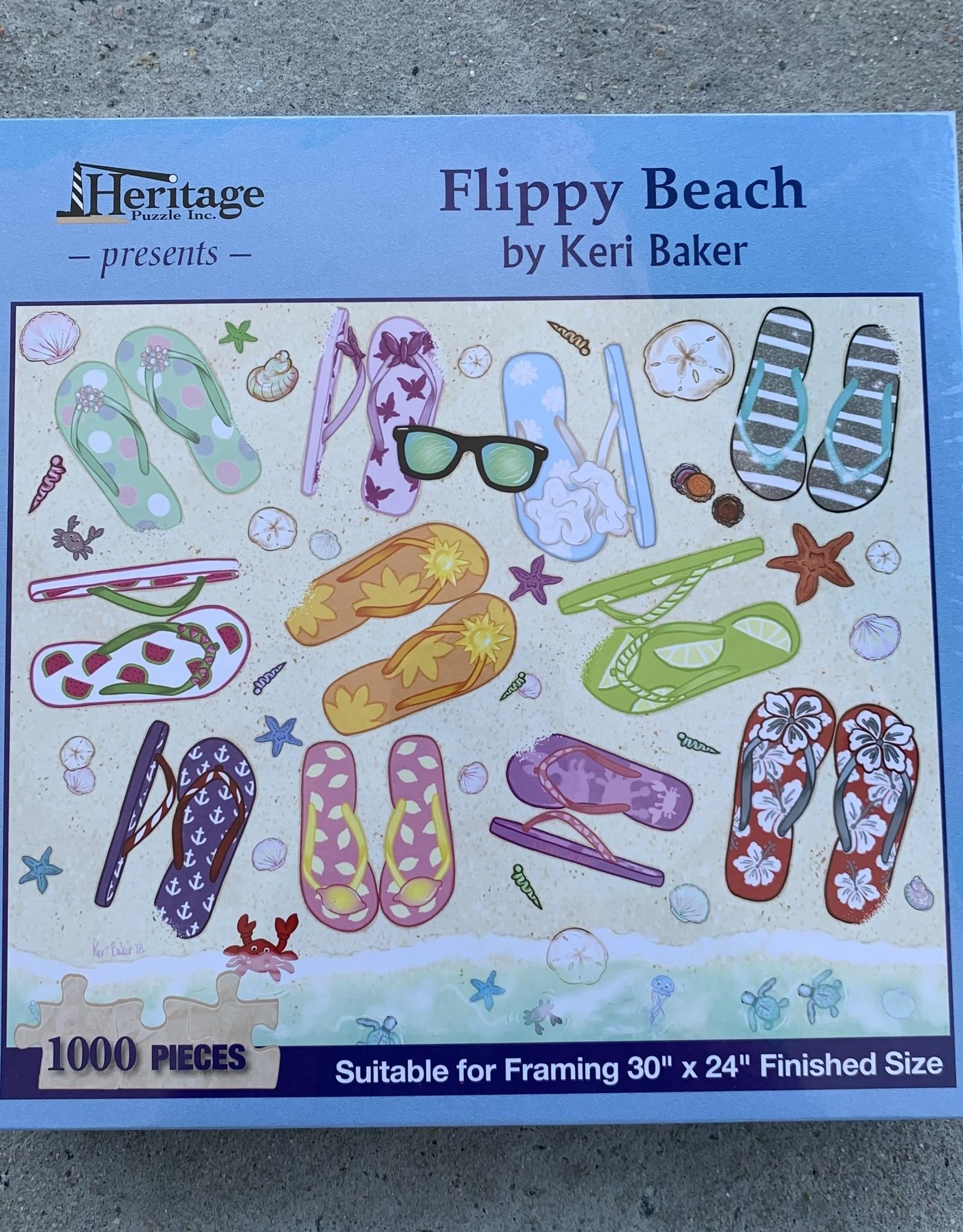 FLIPPY BEACH PUZZLE 1,000PCS