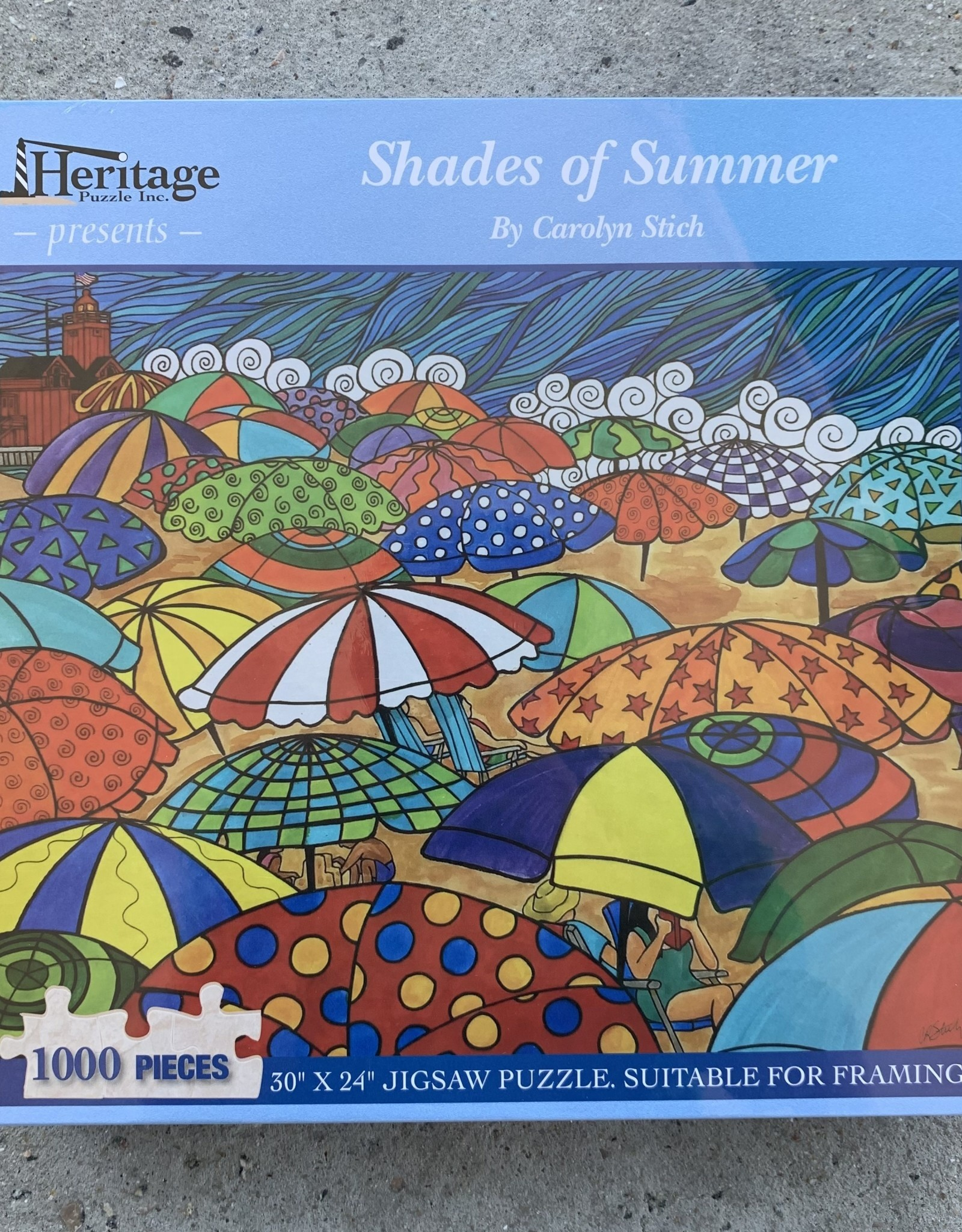 SHADES OF SUMMER PUZZLE 1,000PCS