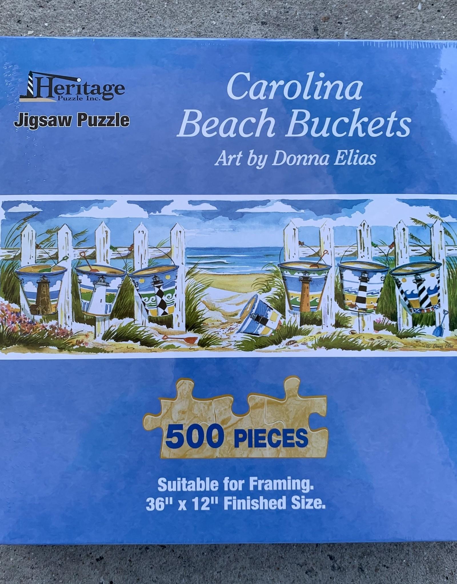 CAROLINA BEACH BUCKETS PUZZLE 500PCS