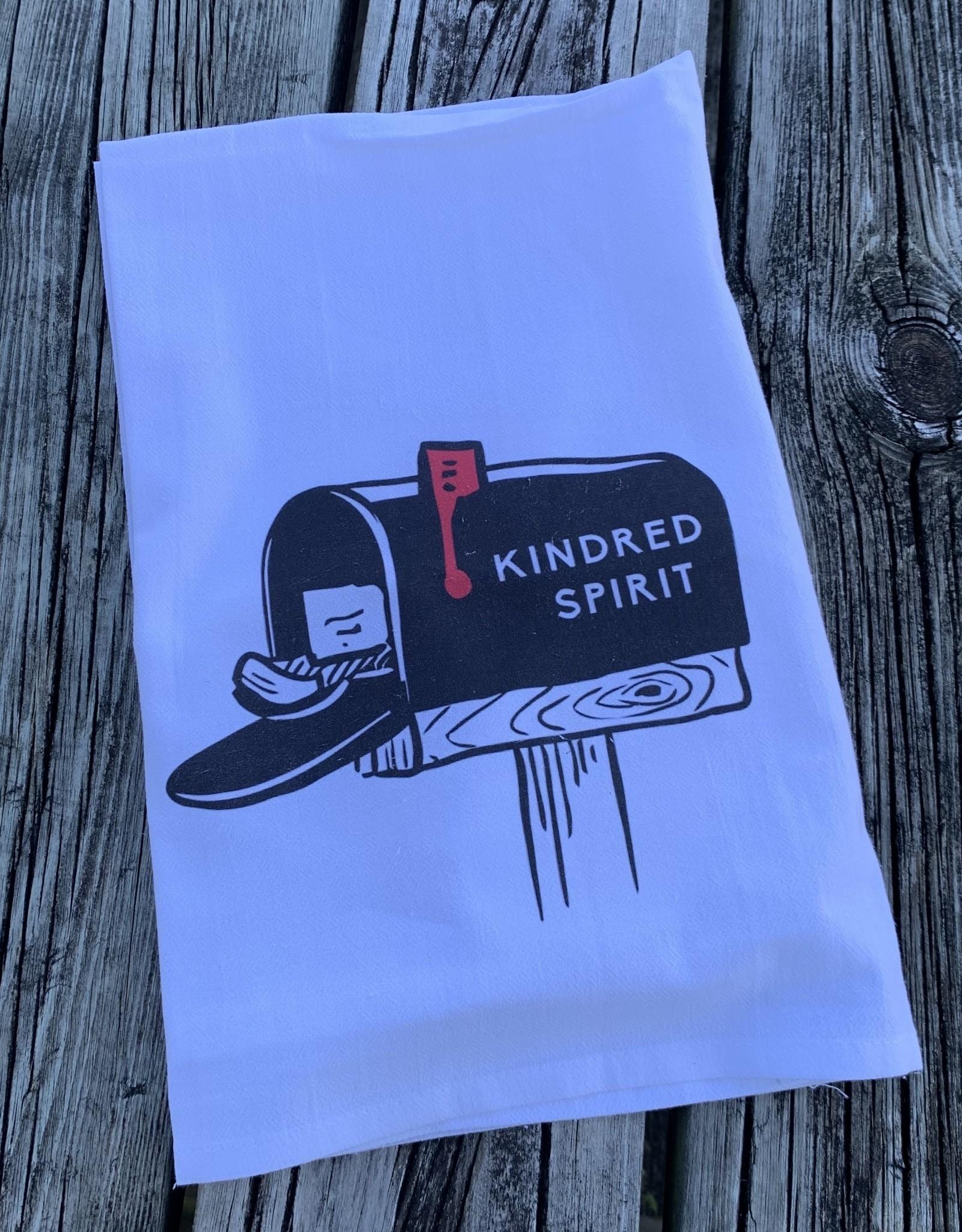 KINDRED SPIRIT DISH TOWEL SIMPLE KINDRED SPIRIT