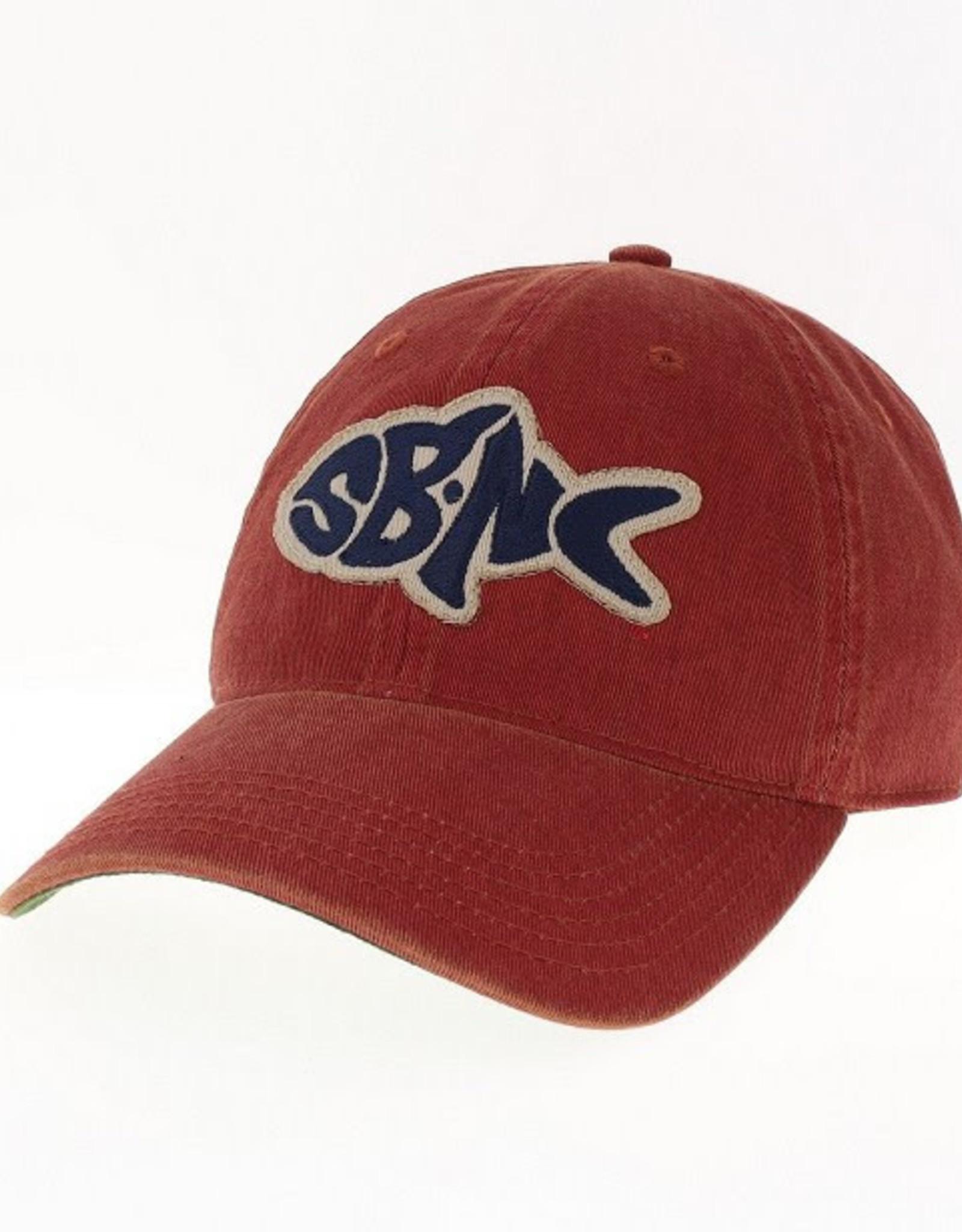 sbncfish SBNC FISH OFA FULL TWILL CAP CARDINAL