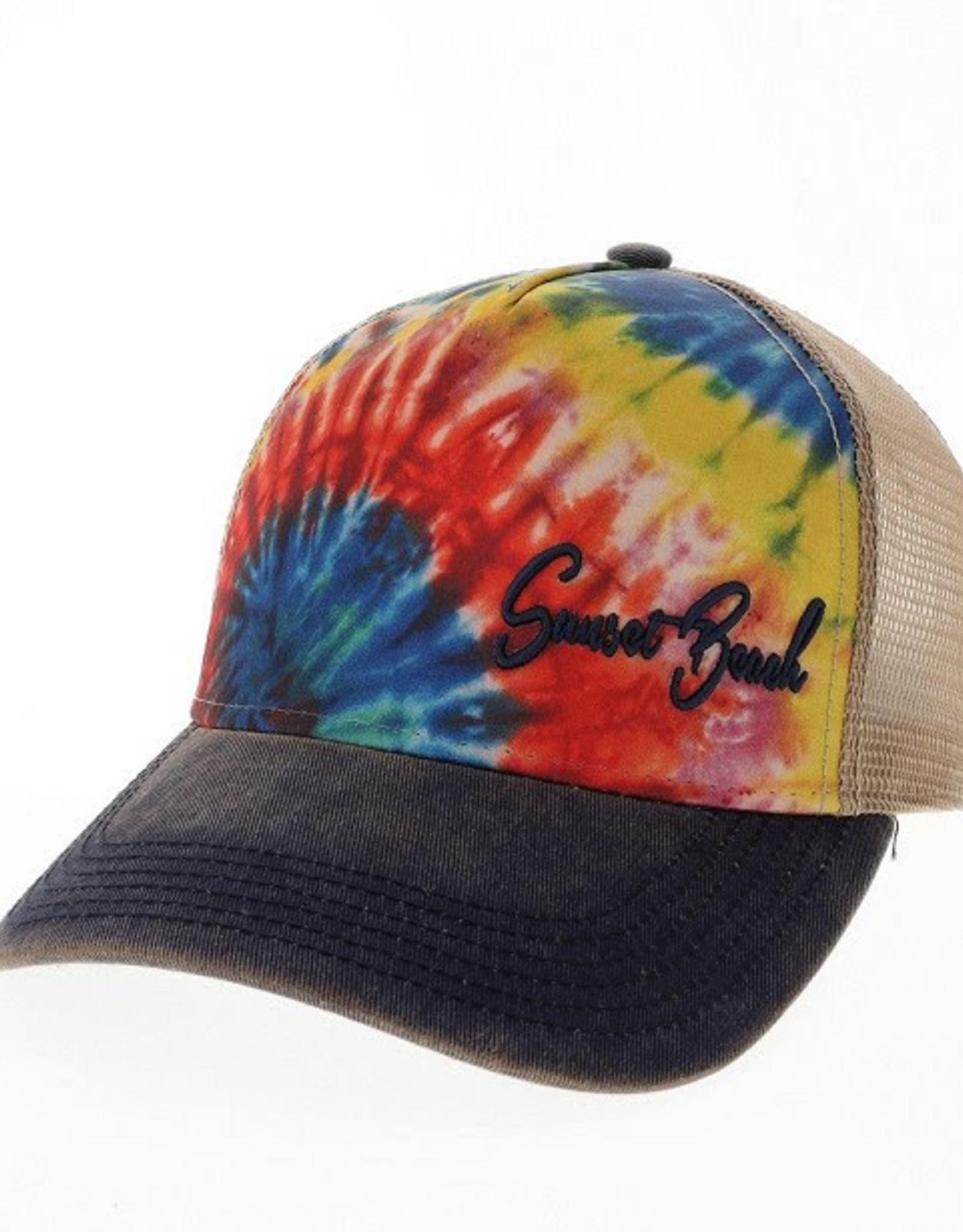 TIE DYE OFAS TRUCKER CAP RAINBOW