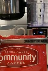 COFFEE SCOOP SUNSET BEACH GALAXY