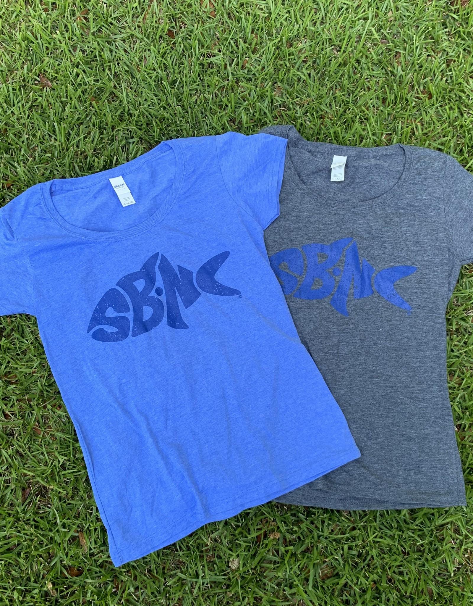 sbncfish SBNC FISH BLUE INK LADIES SS TEE