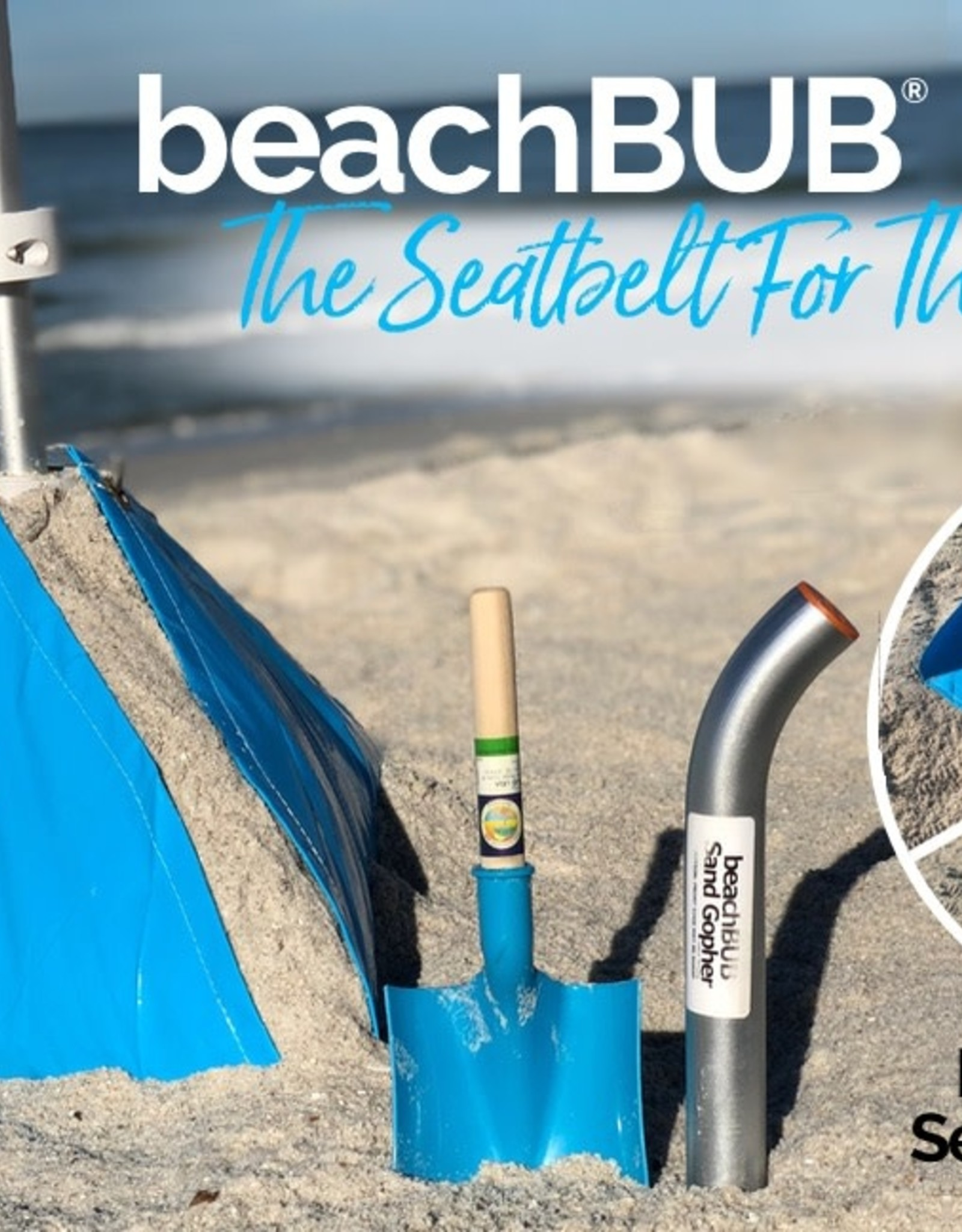 BEACH BUB ULTRA BEACH UMBRELLA BASE (GREEN)