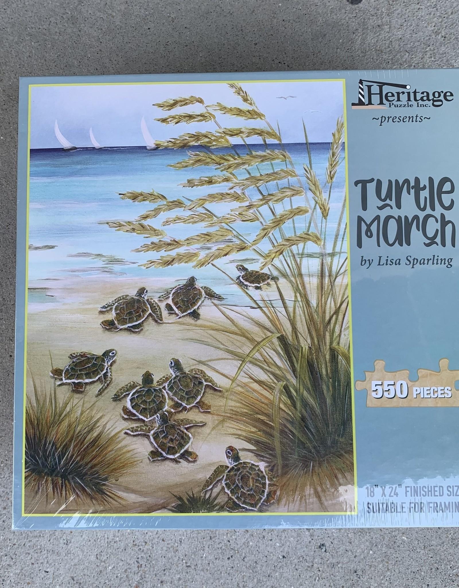 TURTLE MARCH 550PCS