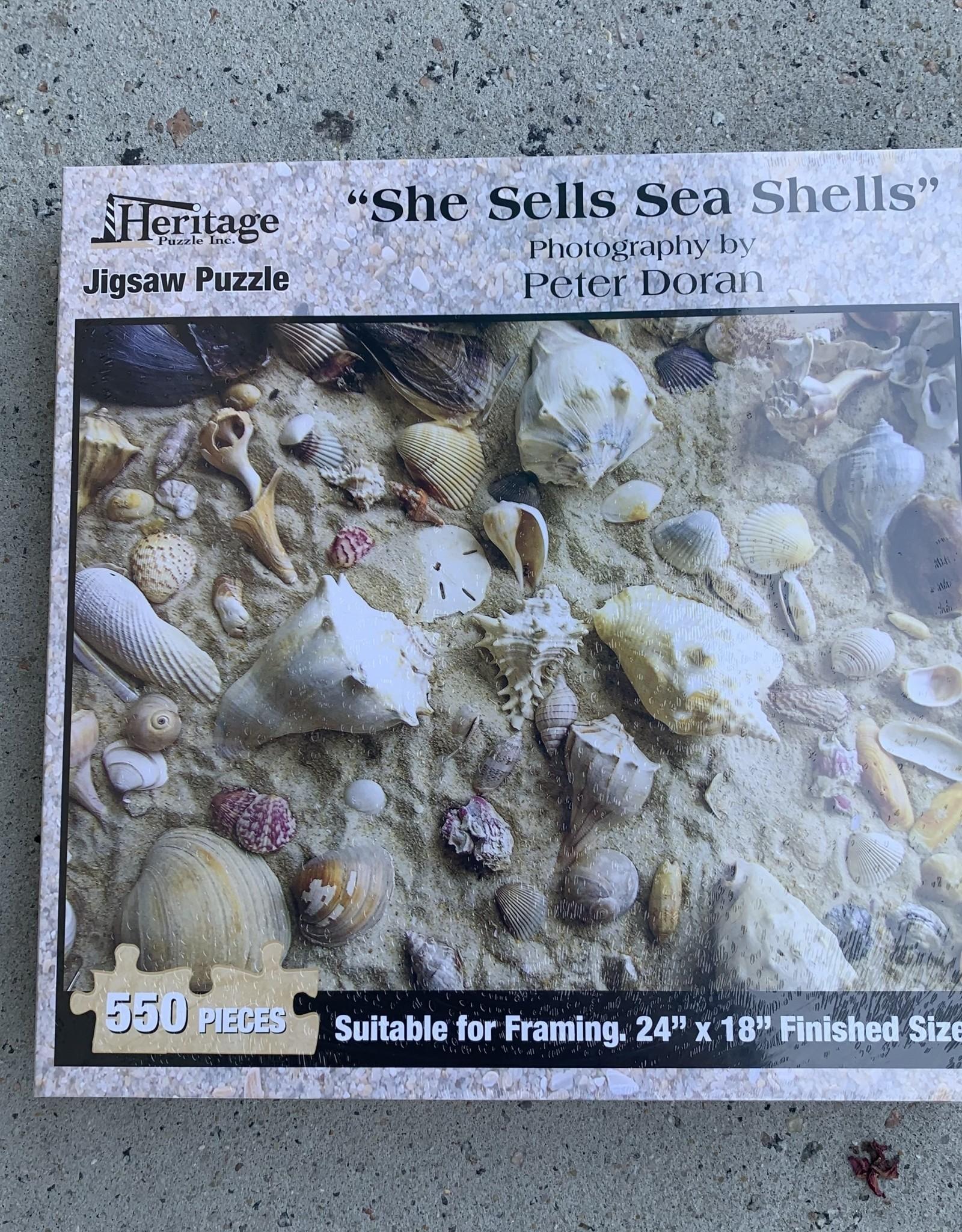 SHE SELLS SEA SHELLS PUZZLE 550PCS