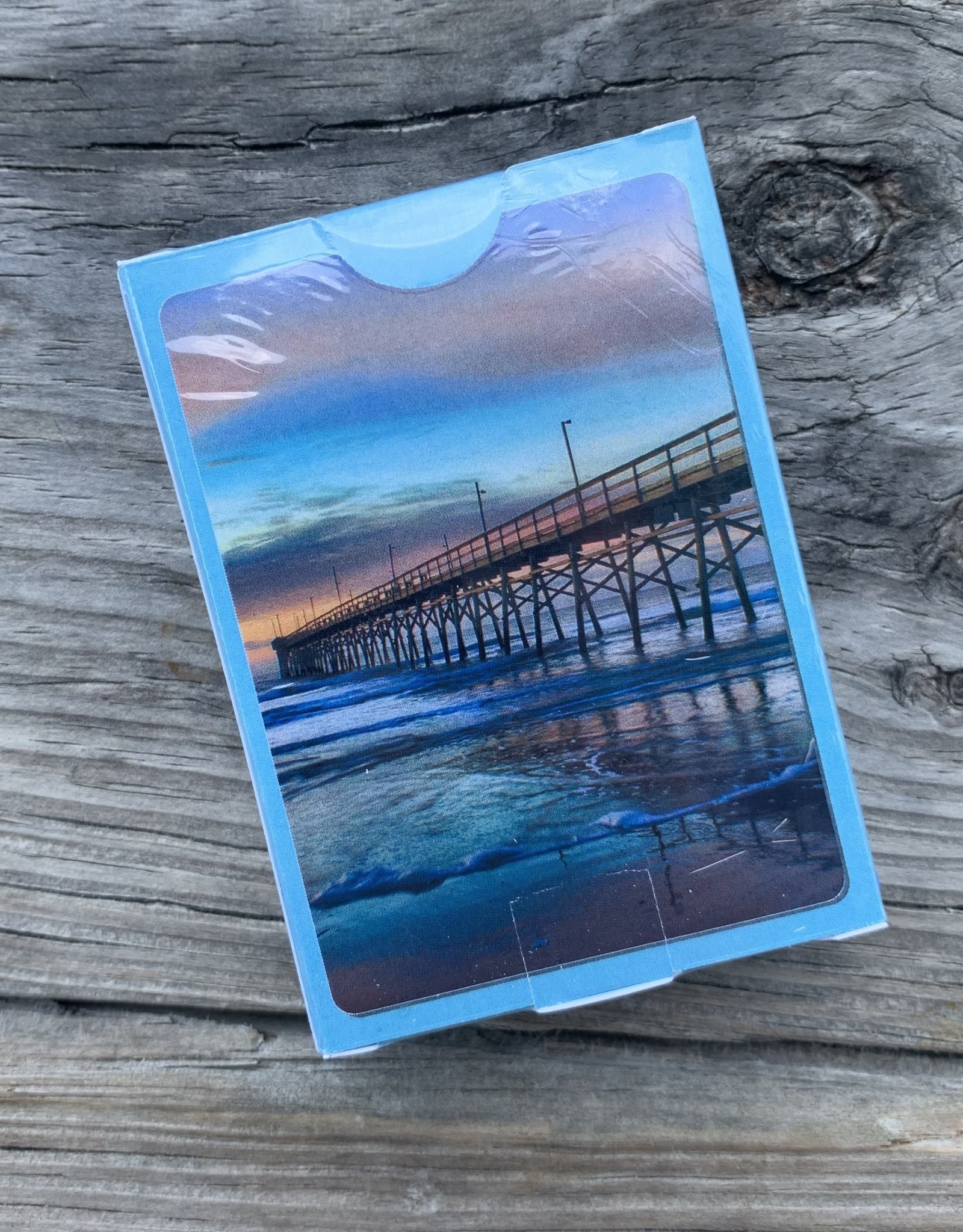 PLAYING CARDS PIER PHOTO