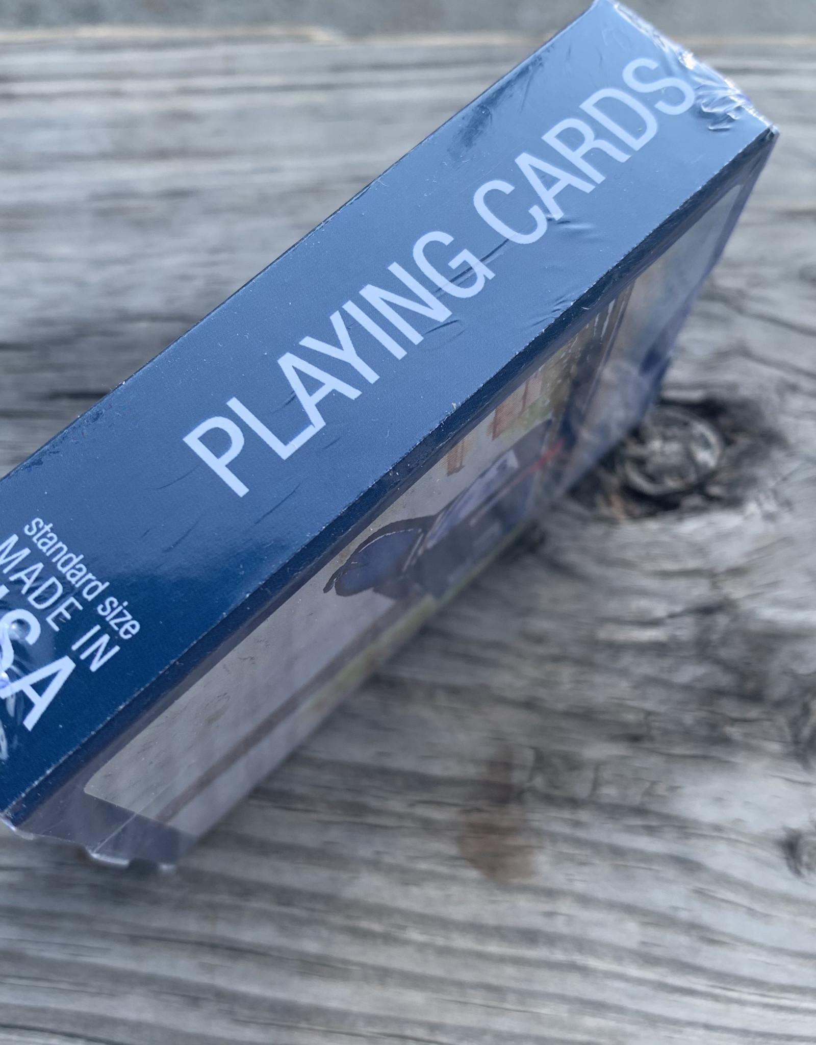 PLAYING CARDS KS MAILBOX CLOSEUP