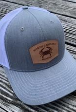 NC BLUE CRAB HTHGRAY/WHITE CAP