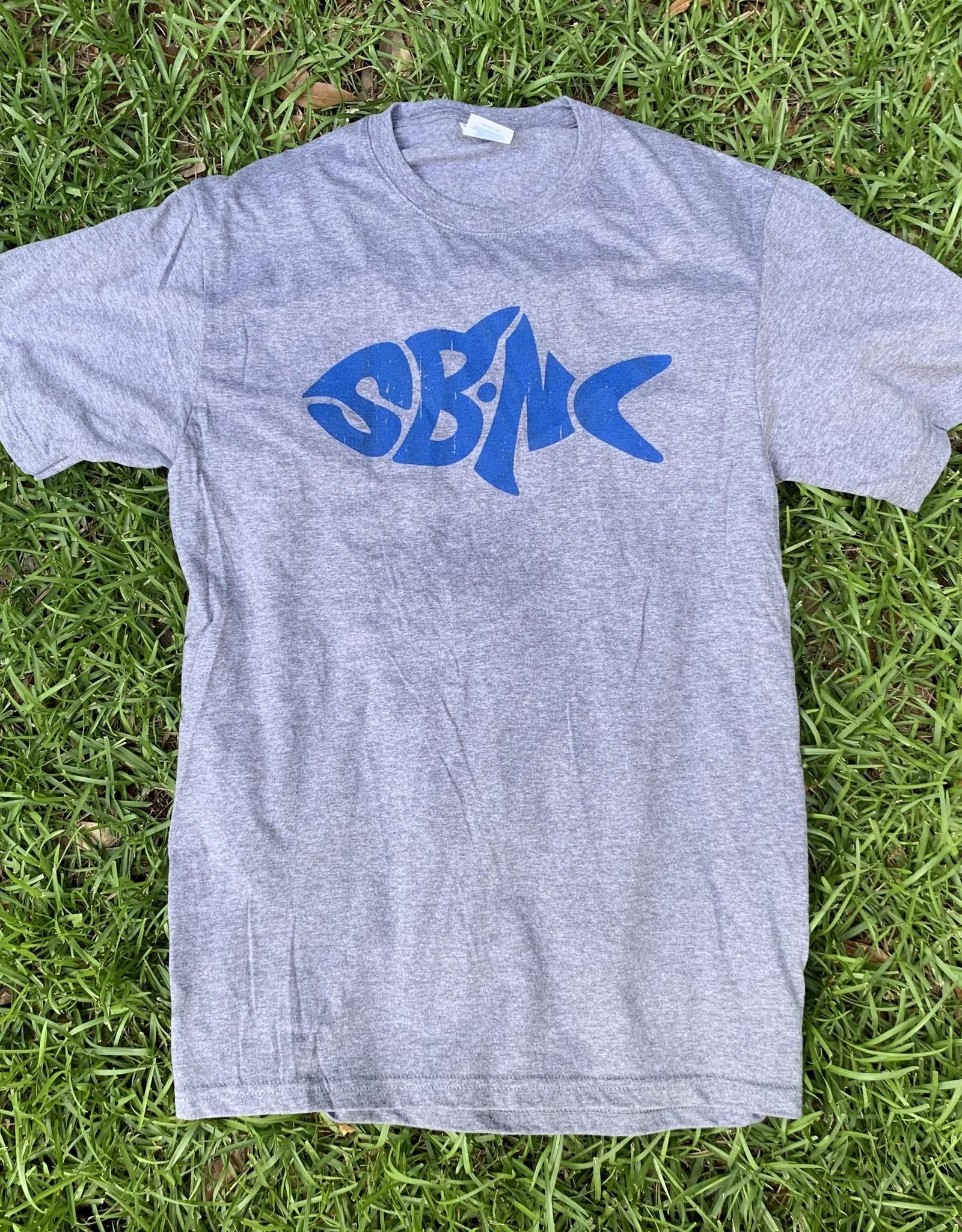 sbncfish SBNC FISH BLUE INK PC TEE