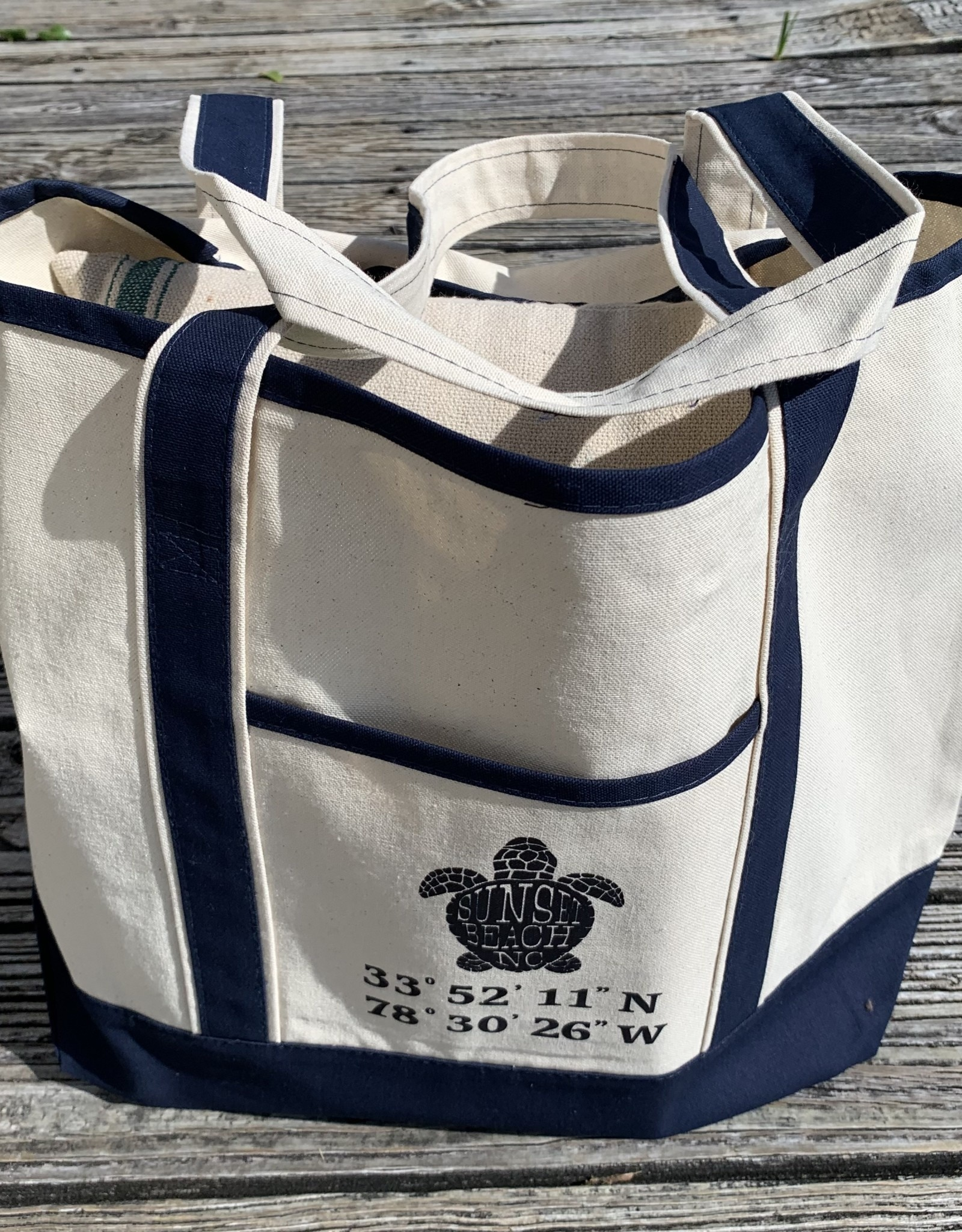 DELUXE TOTE BAG TURTLE