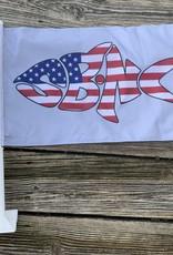 sbncfish SBNC FISH CAR FLAG USA